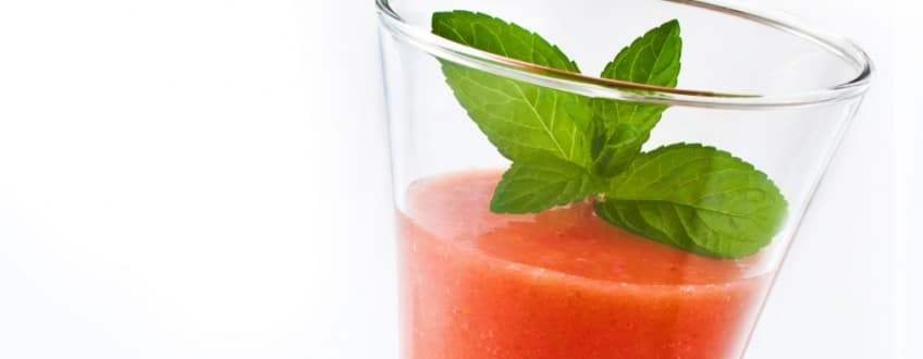 Aardbeien-Abrikoos-Kiwi-smoothie