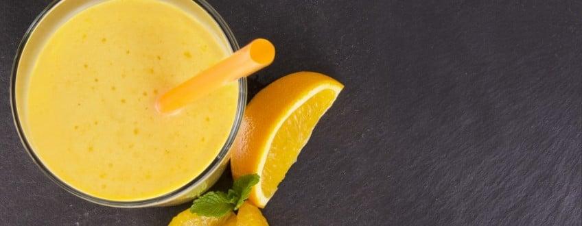 Banaan-Sinaasappel-Nectarine-smoothie