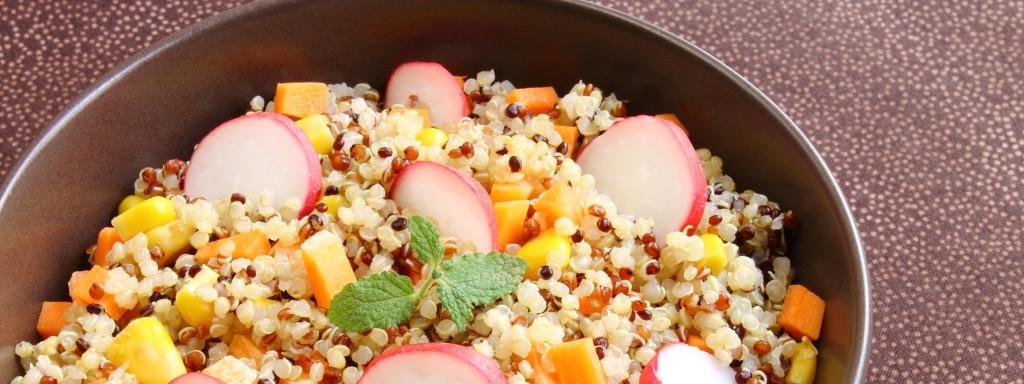 Pesto-quinoa-salade