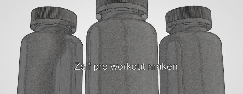 zelf-pre-workout-maken